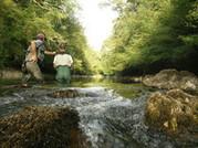 Lionel Armand - Guide de pêche sur les gaves du Béarn