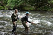 Patrick Taillard - Moniteur-guide de pêche Corrèze et départements voisins
