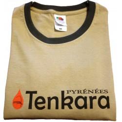 Tee-Shirt Tenkara Pyrénées Beige/Kaki